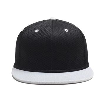 Plain Black Custom Snapback Caps Full Mesh Hat Buy Full Mesh Hat