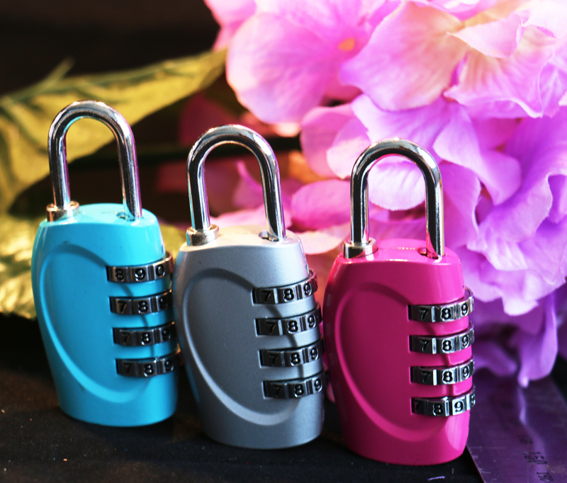 CH-15H 4 numbers zinc alloy mechanical password lock