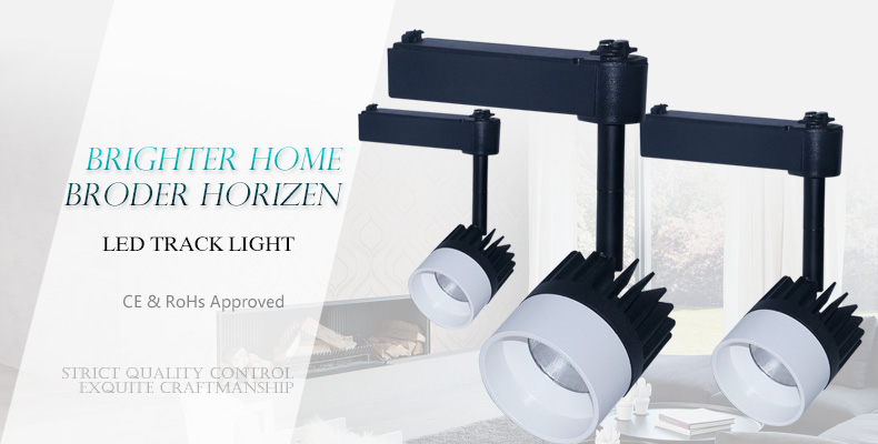 Online Retail Store Fast Response 20w Led Track Lighting Fitting  7