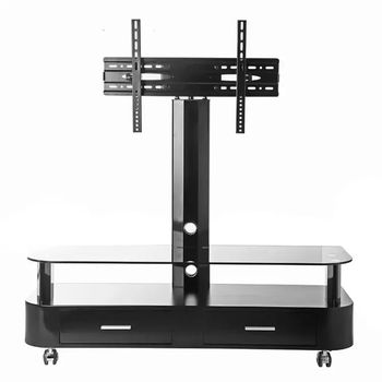 Modern New Design Mobile Tv Stand With Sabinet Drawers And Wheels ...