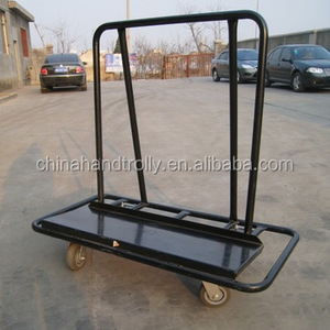 powder coating surface treatment drywall trolley removable plywood dolly