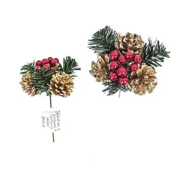 Wholesale Felt Flower Glitter Christmas Wreath Decorations ...