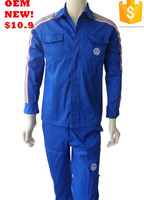 TC 2pcs coverall,working clothes embroidery workwear for automobile factory
