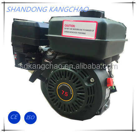 6.5 hp 4-stroke OHV gasoline engine GX200 with good parts