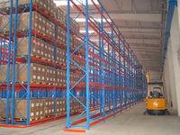 Gravity pallet flow rack carton flow racking heavy duty steel pallet rack gravity flow rack