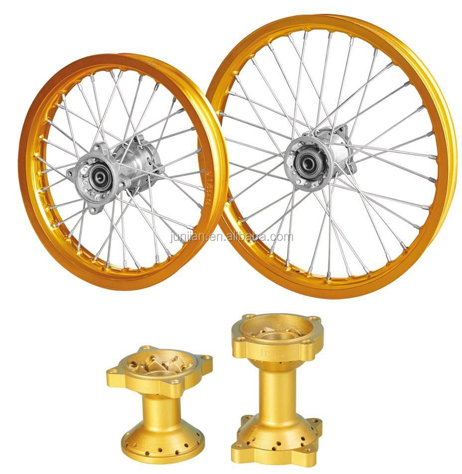 MOTORCYCLE WHEEL RIM HUBS FOR KTM SUPERMOTO WHEELS