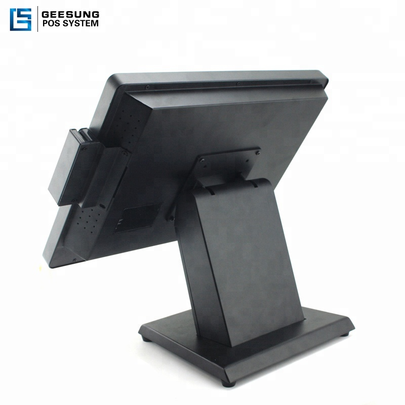15inch metal case cash register aluminum housing J1900 windows pos