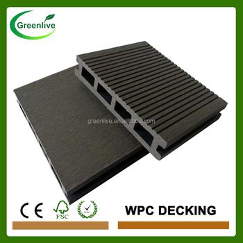 Waterproof Wood Plastic Outdoor Floor Covering