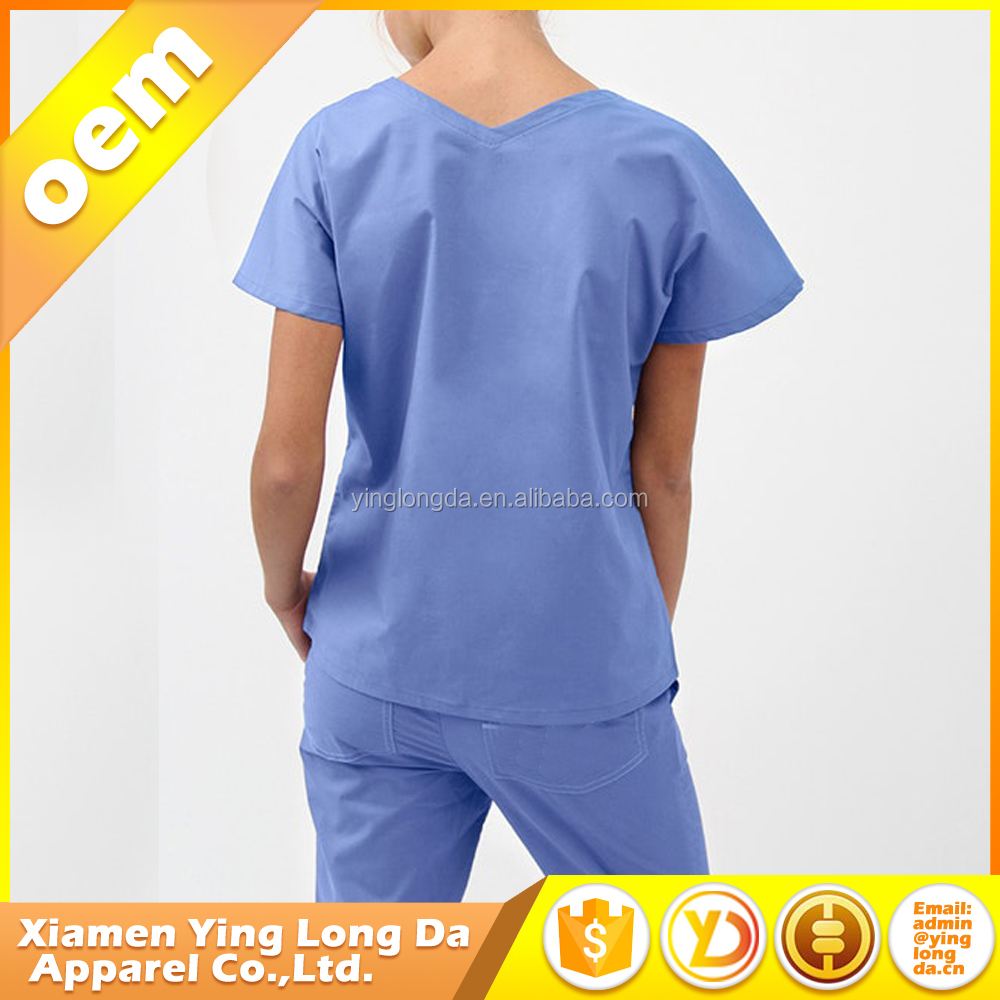 Low price best sell scrub hospital work wear