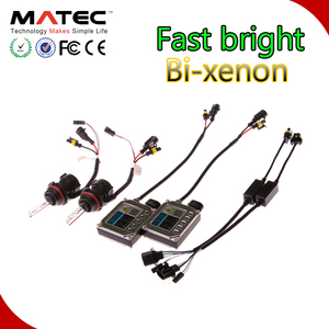 All-in-one HID headlight kit bi xenon conversion kit h11 h13 h4 HB3 HB4 h7 9004 9007 hid bulb 4300k/6000k/8000k car hid lights
