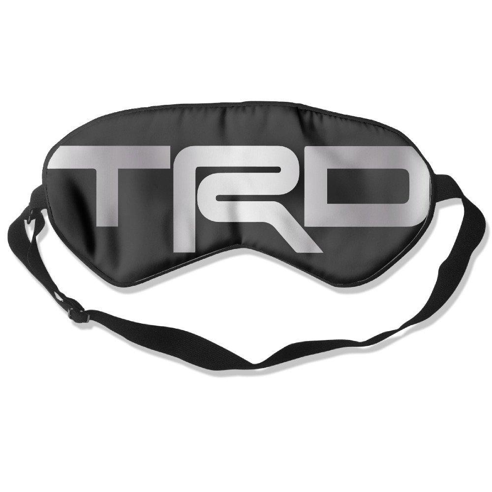 3D TRD Racing Sticker Chrome Plastic Badge Decal Emblem 12.5x3.5cm Water Proof