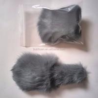 rabbit fur mouse cat toy