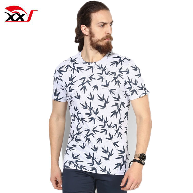 All over printing 100% cotton custom logo t shirt with wholesale price