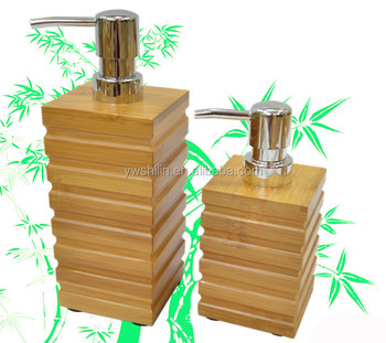 Bamboo Shampoo Bottle / Shower Shampoo Bottle Holder / Small Shampoo Bottles