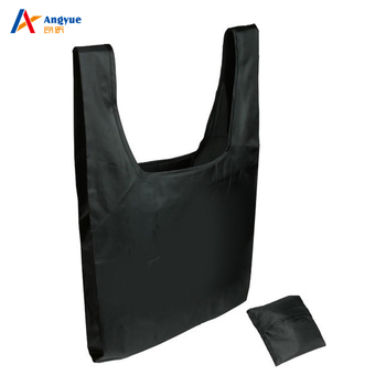 6c88fbbb45 Custom Reusable Folding Shopping Bags Nylon Foldable Shopping Bag Polyester  Tote Bag
