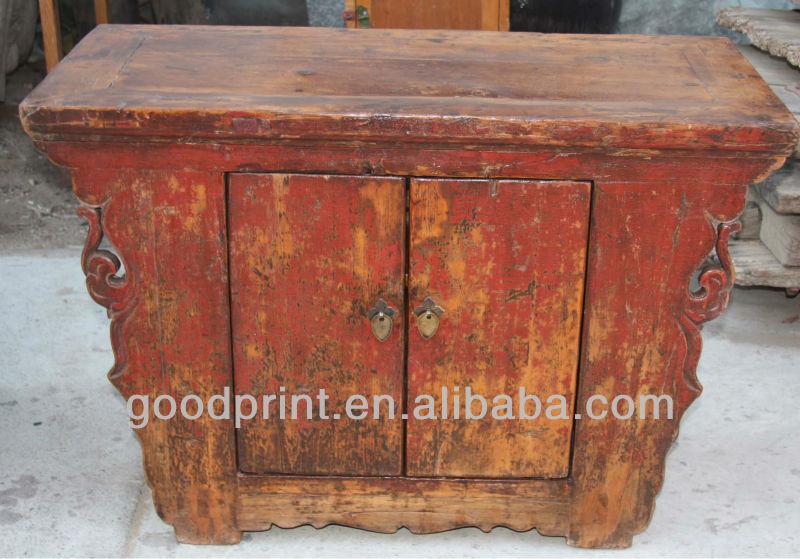 Chinois antique deux armoire portes asiatique meubles for Meuble cabinet chinois