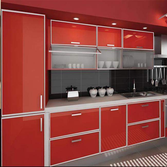 Aluminium Baru Model Kabinet Dapur Foshan Di Stan Lemari Product On Alibaba