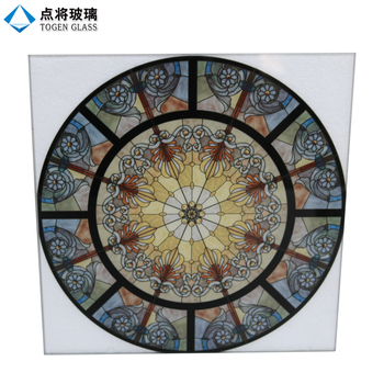 Digital Printing Stained Tempered Art Glass for Church