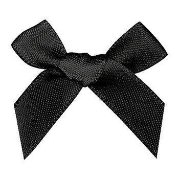 9mm double face satin ribbon bow knot tie wholesale