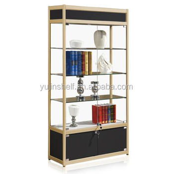 Quality glass cabinet living room showcase design display case for sale,  View Display glass cabinet, Yujin Product Details from Guangzhou Yujin  Shelf ...