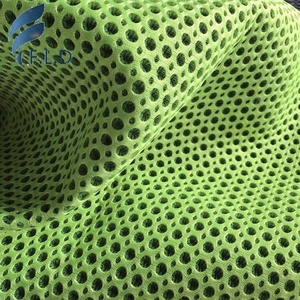3D Air Mesh Fabric 100% Polyester Big-small Hole For bed