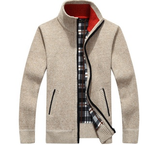 Wholesale Autumn Winter pullover knitted sweater men cardigan