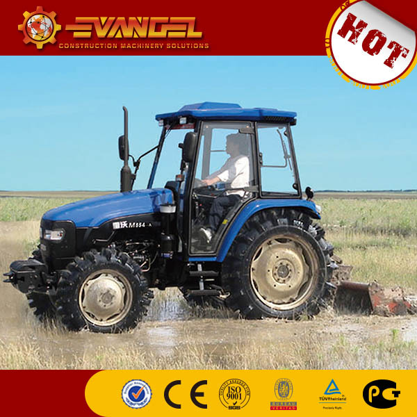 foton lovol 554 50hp 4WD wheel-style farm tractor for hot sale