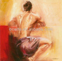 High quality nude men oil painting