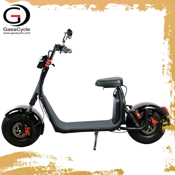 Gaea Buy big power 2 person electric moped scooter 1000W from china factory