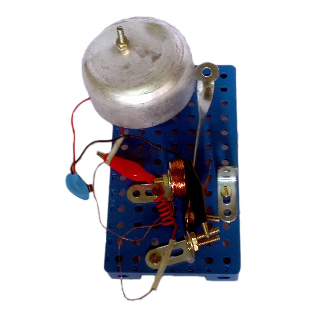 Buy funwood games electric bell do it yourself kit for school funwood games electric bell do it yourself kit for school science projects solutioingenieria Gallery