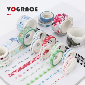 water-based colorful Adhesive Washi Masking Tape for office stationery