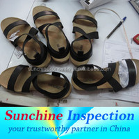 Women Flat Shoes Pre-Shipment Inspection Service in Zhejiang / Inspection Certificate /Product Quality Assurance