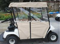 Professional price golf cart covers /hot sale golf cart rain cover with CE certificate with free samples