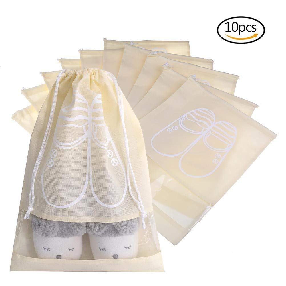c3505e2347 Get Quotations · uhoMEy Portable Shoe Bags
