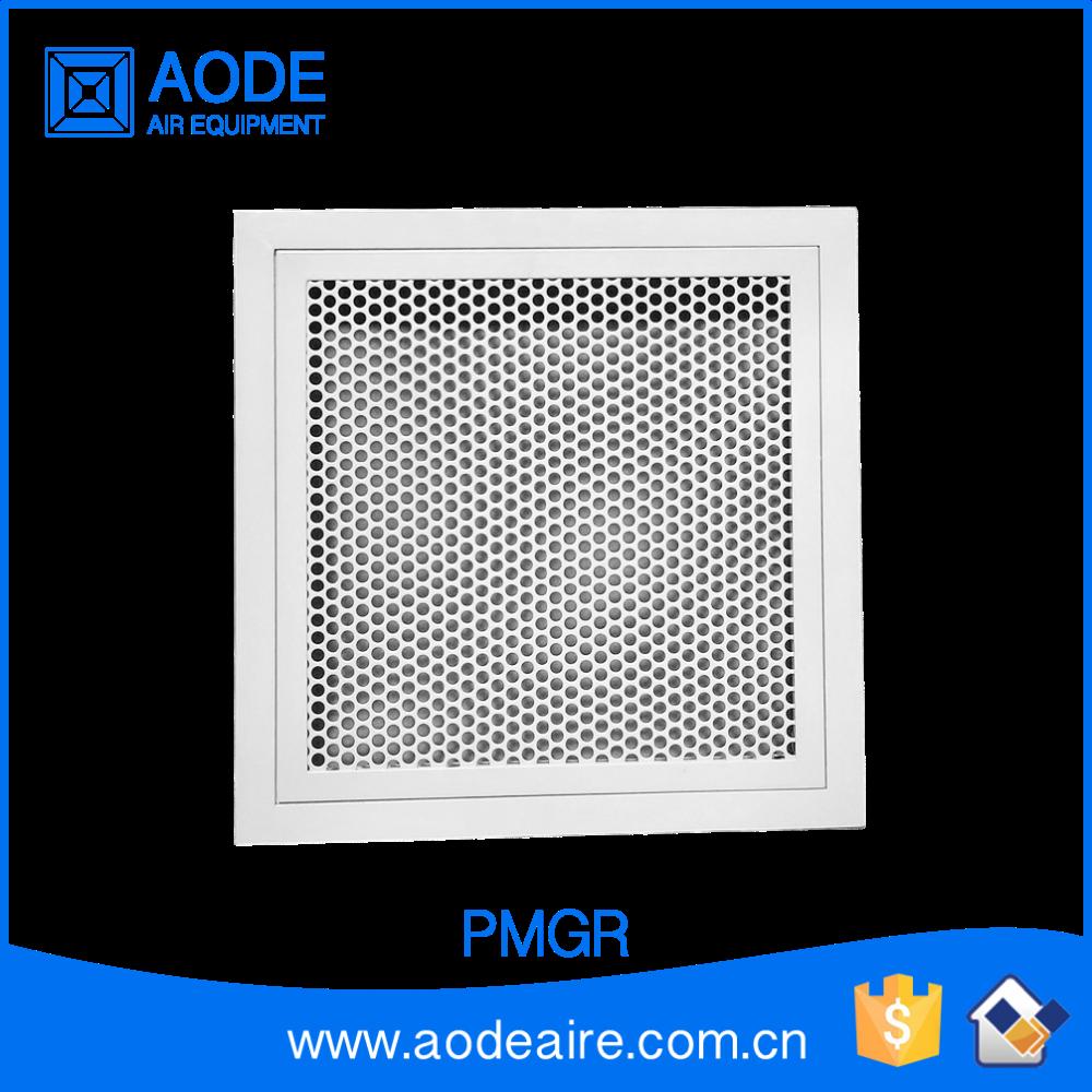 Aluminium grille avec noyau amovible pmgr perfor m tal air grilles pour syst me de ventilation - Grille de ventilation aluminium ...