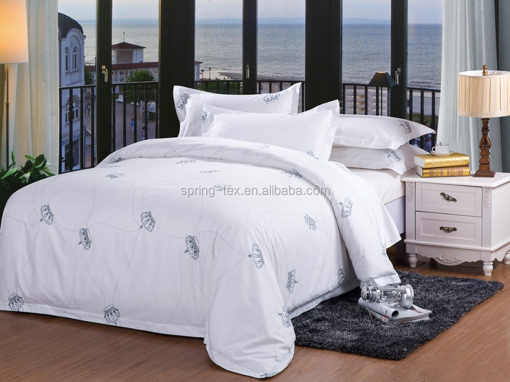 Good Quality 200t 100 Cotton Wholesale Hotel Bedding Used