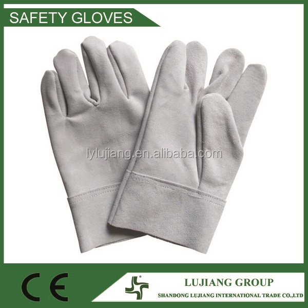 LJ-XB02 Leather Work Gloves / Goat Leather Gloves / Cow Leather safety Gloves