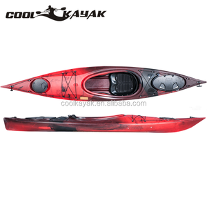 SWIFT High Quality LLDPE ocean canoe sit in single sea kayak with rotomolded plastic