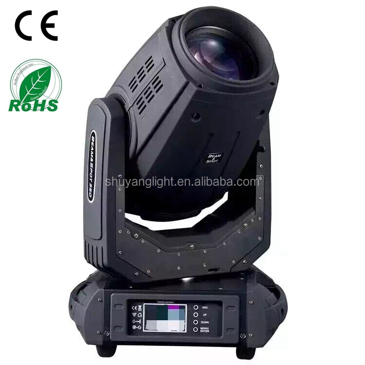 sharpy beam 17r light beam/spot/wash 3 in 1 moving head light 350 beam moving head light