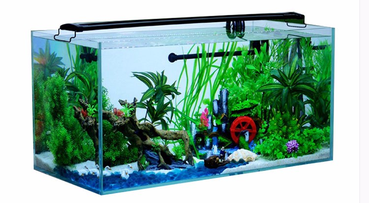 Decorative aquarium artificial live poly resin ornament for Landscaping rocks for aquarium