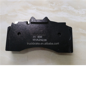 wva 29228/29317 bus/truck part BPW disc brake pad