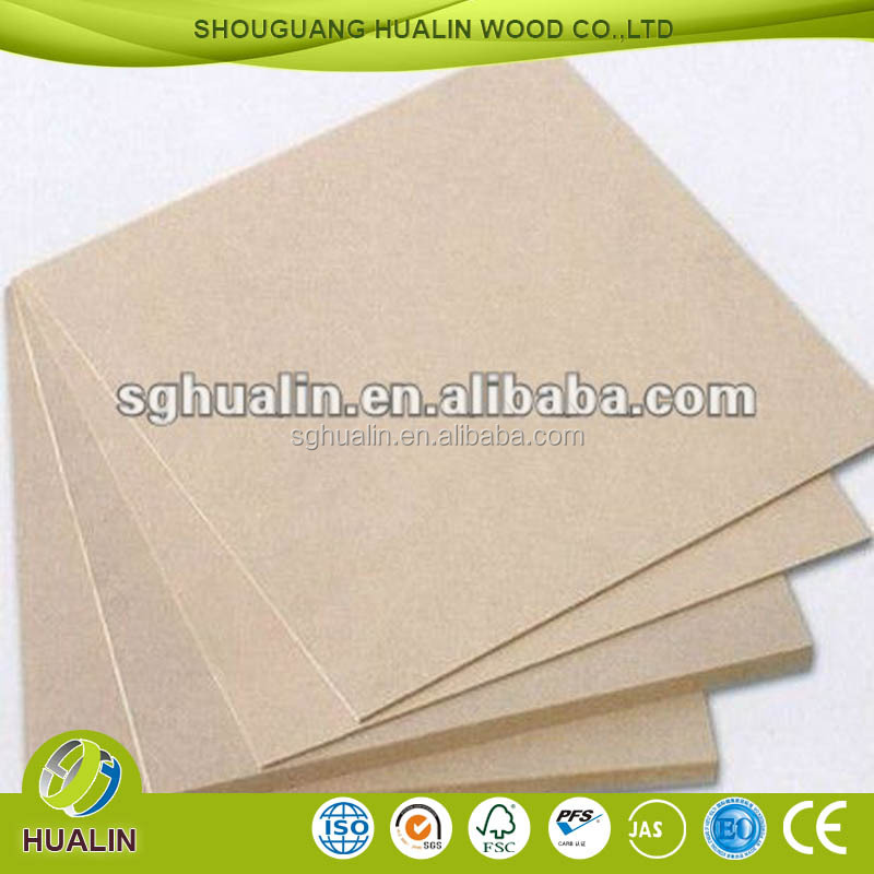 2mm MDF Sheet/raw mdf sheet price/manufacturer mdf