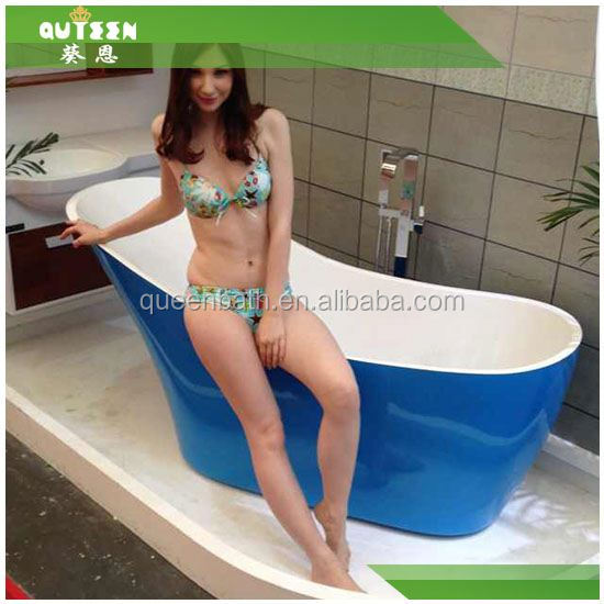 2015 hot sale bathroom granite tub surround, granite shower wall panels whirlpool bathtub
