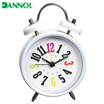 3inch Small Modern Advertising Gift Personalized Desk Alarm Clock Wholesale