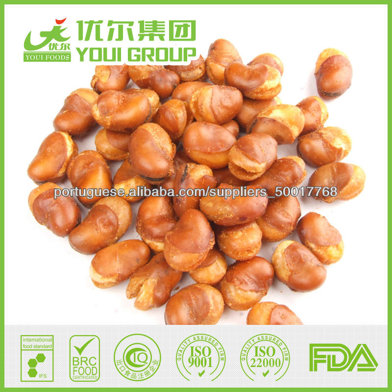Wholesale Snacks Salted Roasted Fava Beans