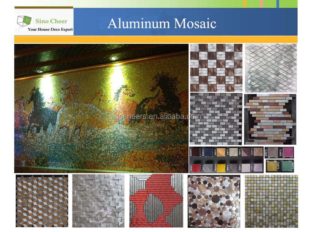 ... Haltbarkeit Und Unterstützung Einmal Installiert. Wenn Sie Erwägen  Metall Mosaik Fliesen Für Ihre Küche Oder Bad Backsplash Oder Vielleicht  Für Akzent ...