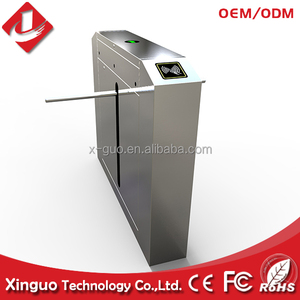 one-arm automatic subway turnstile gate for building management system