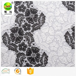 fabric textile 3D flower multi-color lace fabric lace embroidered fabric for wedding clothing