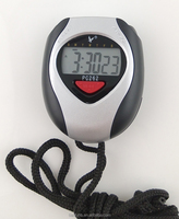 Shenzhen hot sale water resist stop watch /digital sport watch timer