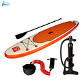 "Fissot OEM/ODM 6"" thick inflatable stand up paddle board with all accessories"
